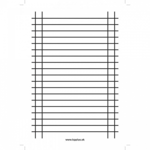 Písacia podložka papierová lakovaná A4