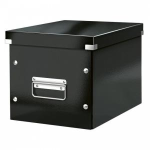 Štvorcová škatuľa A5 (M) Click & Store čierna