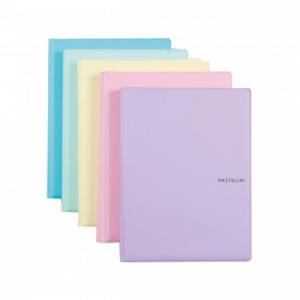 Poznámkový blok A5 Karton PP Pastelini mix farieb