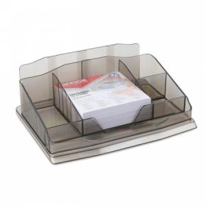 Stolový organizér Office Products dymový