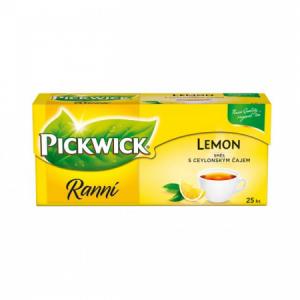 Čaj PICKWICK čierny ranný s citrónom 25x1,75g