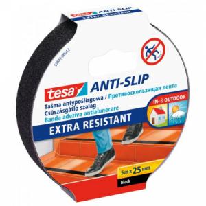 Protišmyková páska Tesa 25mmx5m čierna