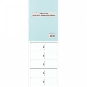 Kniha uzávierok elektr.reg.pokladnice A4 96 strán tvrdá väzba