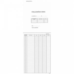 Pokladničná kniha A4 čísl. priepisová 50x2 listy samoprepis