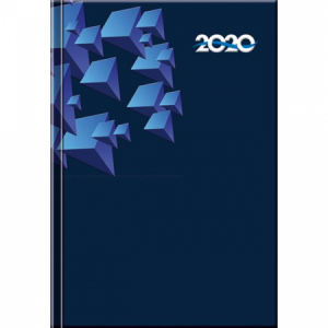 Diár Print denný blue 2020