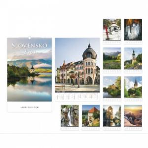 Nástenný kalendár Slovensko 2020