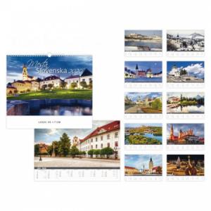 Nástenný kalendár Mestá Slovenska 2020