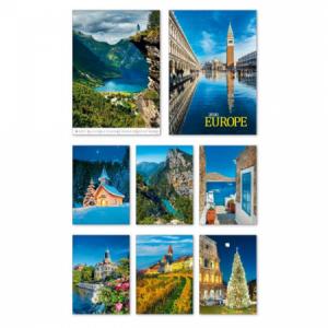 Nástenný kalendár Europe 2020