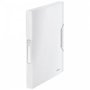 Plastový box s gumičkou Leitz Style arkticky biely