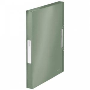 Plastový box s gumičkou Leitz Style zelenkavý