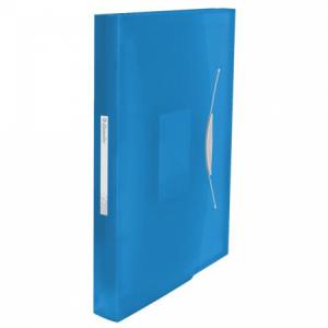 Aktovka plastová s priehradkami Esselte VIVIDA modrá