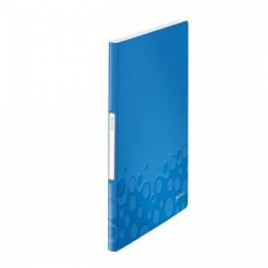 Katalógová kniha 20 Leitz WOW metalická modrá