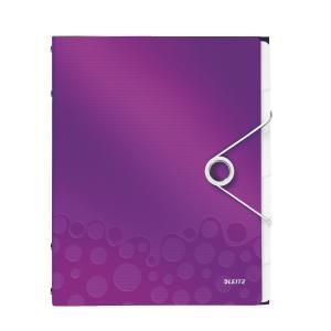 Triediaca kniha 6 Leitz WOW purpurová