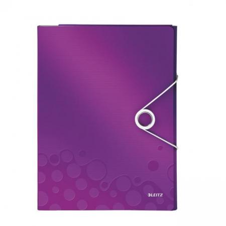 Organizér na dokumenty Leitz WOW purpurový