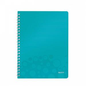 Blok poznámkový linajkový Leitz WOW A4 ľadovo modrý