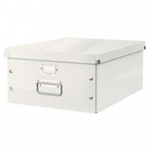 Veľká škatuľa A3 Click & Store biela