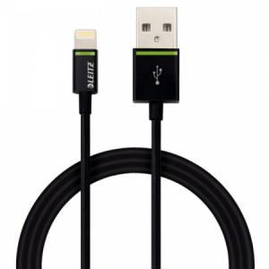 Kábel USB Leitz Complete Lightning 1m čierny