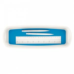 Organizér Leitz MyBox biela/modrá