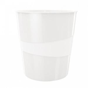 Kôš plastový Leitz WOW 15l biely