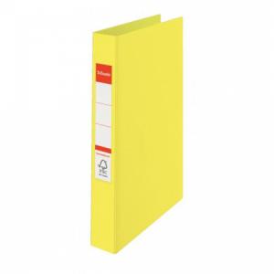 Zakladač 2-krúžkový Esselte Colour'Ice celoplastový 2,5cm žltý