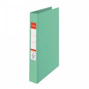 Zakladač 2-krúžkový Esselte Colour'Ice celoplastový 2,5cm zelený