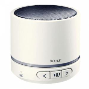 Prenosný bluetooth MINI reproduktor Leitz WOW biely/sivá