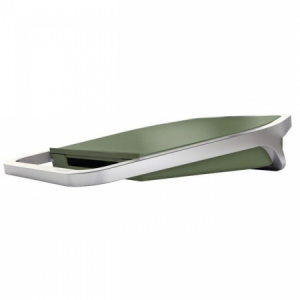 Stolová USB nabíjačka Leitz Style s 2 portami zelenkavá
