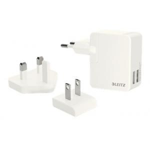 Cestovná nabíjačka 2 USB porty 12W