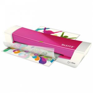 Laminátor Leitz iLAM Home Office A4 WOW ružový