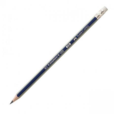 Ceruzka Faber Castell Goldfaber 1222 s gumou 12ks