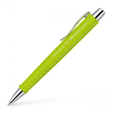 Guľôčkové pero FABER-CASTELL Poly Ball XB limetkové