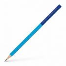 Ceruzka Faber Castell Grip 2001 B bledo modrá-modrá 12ks