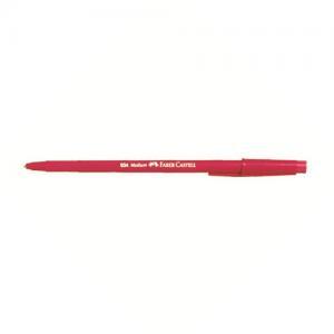 Guľôčkové pero FABER-CASTELL Fine 034 červené