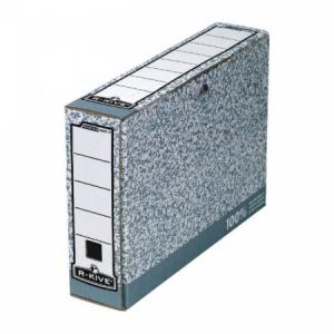 Archívny box Fellowes BANKERS BOX 80mm sivý/biely