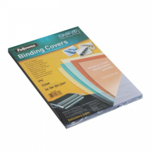 Plastové obálky na krúžkovú väzbu Prestige A4 150 mic. číre