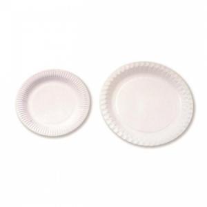 Papierový tanier plytký 23cm 100ks
