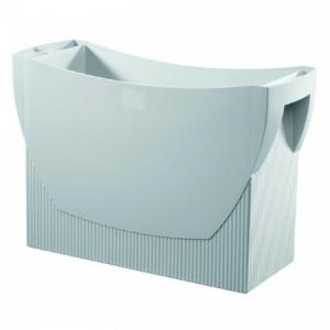 Prenosný box na závesné obaly HAN SWING bez veka sivý