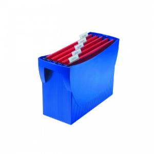 Prenosný box na závesné obaly HAN SWING bez veka modrý