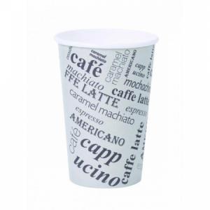 Papierový pohár 0,3l _Coffee to go_ s motívom 50ks