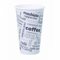 Papierový pohár 0,4l _Coffee to go_ s motívom 50ks