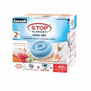 Ceresit Stop vlhkosti - 2tablety AERO ovocie 2x450g