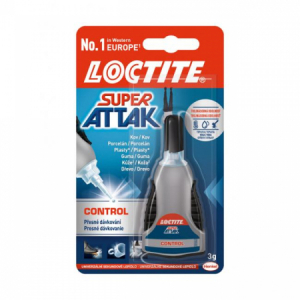 Sekundové lepidlo Loctite Super Attak Control 3 g
