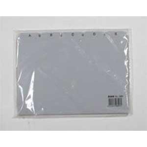 Plastové indexové kartičky A5 do kartotéky HAN 985