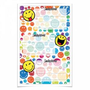 Etikety školské Smiley World Rainbow 3 ks na blistri