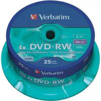 Verbatim DVD-RW 4x 4,7GB...
