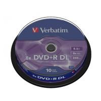 Verbatim DVD+R 8x DL 8,5GB...