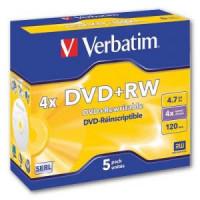Verbatim DVD+RW 4x klasický...