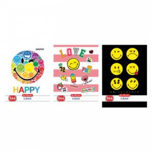 Zošit 444 A4 40 listov linajkový Smiley World