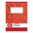 Zošit 624 A6 20 listov linajkový