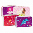 Detský kufrík 35 cm dievčatá mix motívov